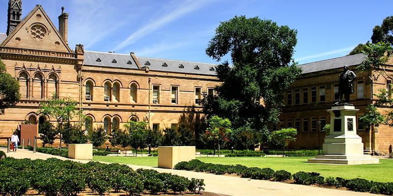 Khuôn viên của University of Adelaide