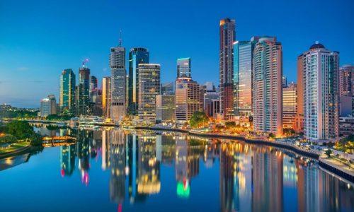 Thành phố Brisbane bang Queensland tuyệt đẹp.